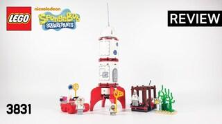 레고 스폰지밥 3831 로켓 모험(LEGO SpongeBob Rocket Ride)  리뷰_Review_레고매니아_LEGO Mania