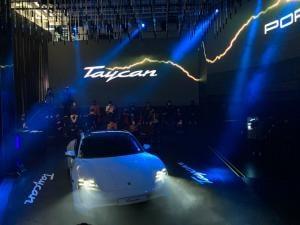 포르쉐 첫 순수 전기차 타이칸 국내 출시, 판매가 1억4560만원부터