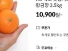 농협20%[어글리러블리X깨비농원]2.5KG 작고 못생겨도 맛은 보장하는 제주황금향 2.5kg, 10,900원