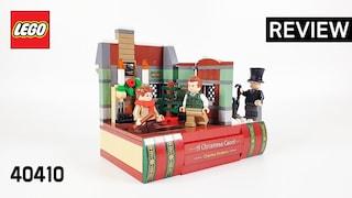 레고 프로모션 40410 창의적 개성(Promotion Charles Dickens Tribute)  리뷰_Review_레고매니아_LEGO Mania