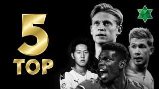 '충격적인 결과' 유럽 미드필더들이 많이 신는 축구화 TOP 5