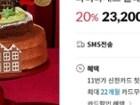 파리바게뜨 몰래 찾아온 라이팅 산타 케이크 23,200원