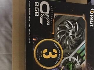 팰릿 3070 Gaming Pro OC & 실버스톤 PF-360 간단 사용기입니다.
