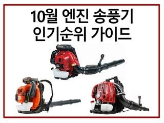 [10월 인기순위 가이드] 낙엽/도로/먼지 청소 끝!! 엔진 송풍기