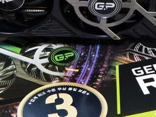 강력한 성능에 가성비도 좋은 그래픽카드 PALIT 지포스 RTX 3070 GAMINGPRO OC D6 8GB