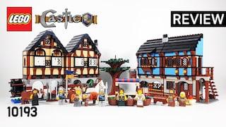 레고 캐슬 10193 중세 마을(LEGO Castle Medieval Market Village)  리뷰_Review_레고매니아_LEGO Mania