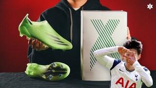 요즘 손흥민이 신고 날아다니는 축구화! '엑스 고스티드 + FG' Precision to Blur Pack