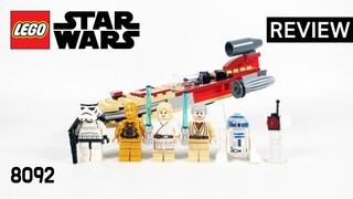 레고 스타워즈 8092 루크의 랜드스피더(LEGO Star Wars Luke's Landspeeder)  리뷰_Review_레고매니아_LEGO Mania