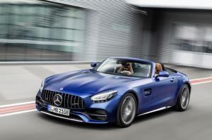 벤츠, 고성능 오픈탑 '더 뉴 메르세데스-AMG GT C 로드스터' 출시