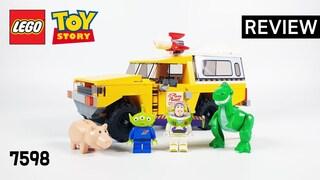 레고 토이스토리 7598 피자 플래닛 트럭 구출(LEGO Toy Story Pizza Planet Truck Rescue)  리뷰_Review_레고매니아_LEGO Mania