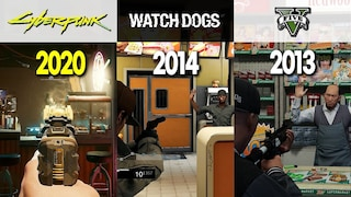 사이버펑크 2077 vs 와치독스 vs GTA 5 / Cyberpunk 2077 Physics vs. Watch Dogs Physics vs. GTA 5 Physics