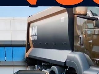 신기한 덤프트럭의 세계, '레알 오프로더' 만 TGS..뭐? 덤프트럭에 어댑티브 크루즈 컨트롤까지 있다고!