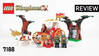 레고 킹덤 7188 왕의 마차 기습(LEGO Kingdoms King's Carriage Ambush)  리뷰_Review_레고매니아_LEGO Mania