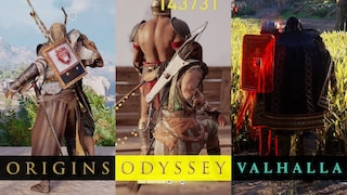 (ENG) 어쌔신 크리드 시리즈 암살 비교 / AC Origins vs. AC Odyssey vs. AC Valhalla Assassination style