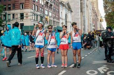 뉴발란스, 2019 뉴욕 마라톤 대회 후원