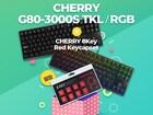 피씨디렉트 '체리 G80-3000S TKL' 구매시 '체리8KEY POINT KEYCAP SET' 증정