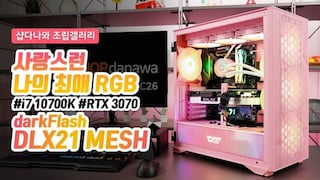 사랑스런 나의 최애 RGB - darkFlash Twister DX-360 ARGB
