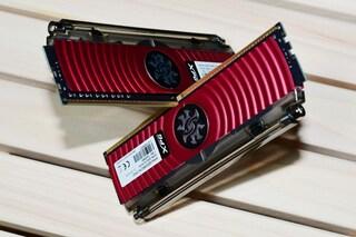 하이브리드 수냉식 냉각 시스템을 담은 ADATA XPG SPECTRIX D80 DDR4 RGB 메모리.