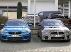 [스파이샷] BMW M5 F/L