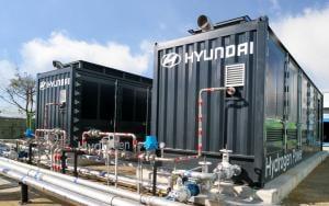 현대차, 국내 독자기술 1MW급 수소연료전지 발전 시스템 시범 운영