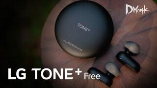 부드러운 사운드, 끊김없는 통화가 매력, LG TONE+ Free (2019)