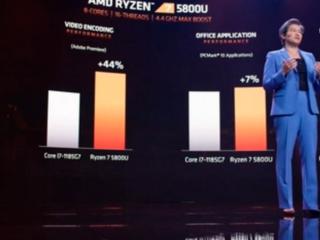 AMD, 세잔 CPU로 인텔 중심 노트북시장 정조준