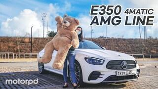메르세데스 벤츠 신형 E350 4매틱 AMG 라인 리뷰  베스트셀러 세단의 매력은? (자동차/리뷰/시승기)