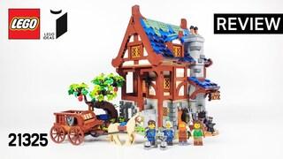레고 아이디어 21325 중세 대장간(LEGO IDEAS Medieval Blacksmith)  리뷰_Review_레고매니아_LEGO Mania