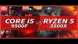 코어i5 9500F vs 라이젠5 3500X - 엔트리 라인업 세대교체! 게임 3종 프레임 벤치마크