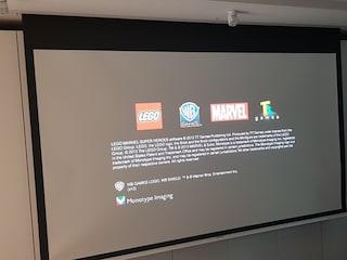 그랜드뷰 매립형 스크린 GEC-106HI, 옵토마 4K 프로젝터 UHD51A, 새틀라이트 스피커 패키지 인스톨