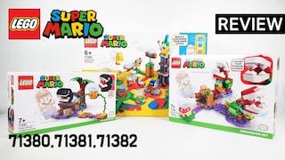 레고 슈퍼 마리오 확장팩 3종 몰아보기 71380 슈퍼 마리오 어드벤쳐 메이커 확장팩(71381,71382)  리뷰_레고매니아