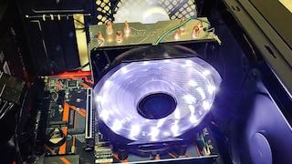 가성비 CPU쿨러 잘만테크 CNPS9X OPTIMA WHITE LED