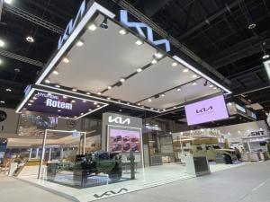 기아, 4인승 카고ㆍ베어샤시 등 소형전술차량 콘셉트카 세계 최초 공개