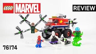 레고 마블 76174 스파이더맨의 몬스터 트럭 VS 미스테리오(LEGO Marvel SpiderMan's Monster Truck vs. Mysterio)  리뷰_Review