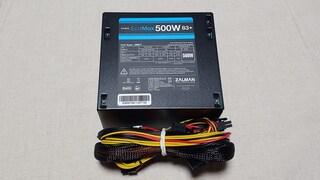 컴퓨터파워도 잘만테크가 만들면 잘만든다 잘만 EcoMax 500W 83+