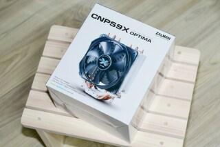잘만 CNPS9X OPTIMA WHITE LED 쿨러 사용기.