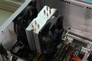 잘만의 가성비 공랭 쿨러 'CNPS9X OPTIMA WHITE LED' 리뷰