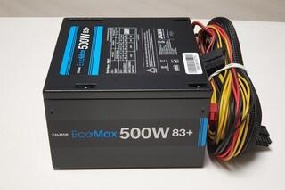 가성비 좋은 PC 파워 잘만 EcoMax 500W 83+ 후기