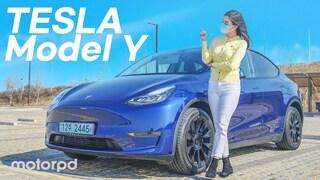 주행가능거리 511km?! 테슬라 모델Y 롱레인지 리뷰  (자동차/리뷰/시승기)