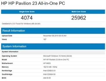 인텔 데스크탑용 10코어 코멧 레이크 CPU 정보 유출