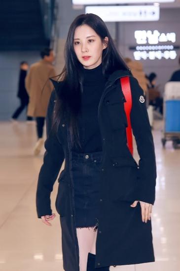 따듯함 까지 더한 소녀시대 서현의 공항패션