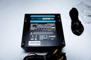 잘만 EcoMax 600W 83+ 가성비 파워서플라이