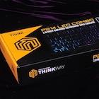 가벼운 스낵 같은 게이밍기어, 웨이코스 씽크웨이 P214 LED COMBO 게이밍 키보드 마우스 합본팩