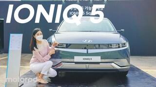 아이오닉 5 드디어 내외관 살펴봤어요!  IONIQ 5 review  (자동차/리뷰/시승기)