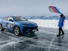 람보르기니 우루스, 얼음 호수 최고속도 298km/h 기록