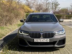 [시승기] 수입 대표 중형 세단으로 자리매김 'BMW 뉴 5시리즈'