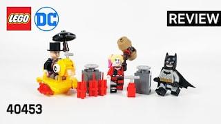 레고 슈퍼히어로즈 40453 배트맨 VS 펭귄과 할리 퀸(DC Batman vs. Penguin & Harley Quinn)  리뷰_Review_레고매니아_LEGO Mania