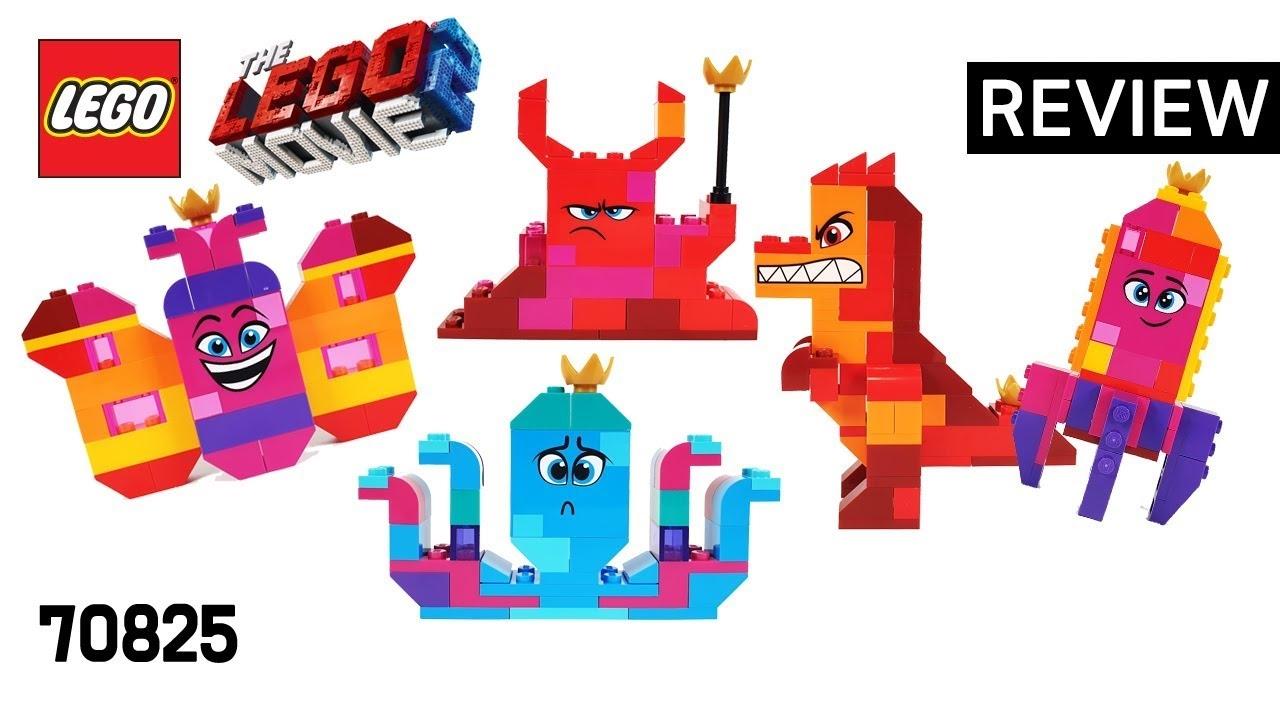 레고 무비2 70825 와테브라 여왕의 무엇이든 조립 박스(Queen Watevra's Build Whatever Box)  리뷰_Review_레고매니아_LEGO Mania