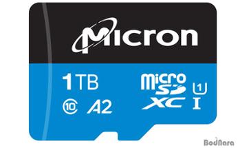 마이크론, 산업용 1TB microSD 카드 출시