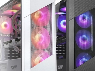 다나와 DPG 특가몰 darkFlash POLLUX RGB 강화유리 (블랙)